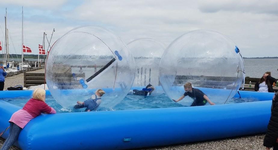 Waterballs udlejning til børn og voksne