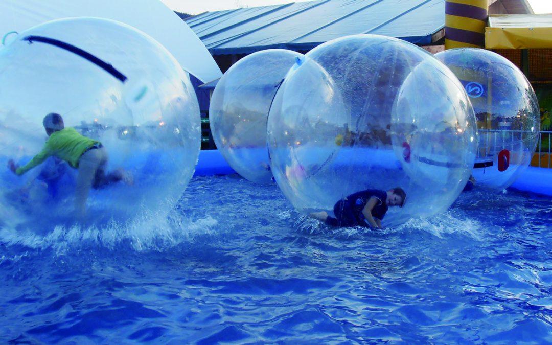 Tobias Dybvad i vores waterball til Zulu awards 2019