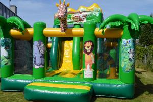 Børnefødselsdag Jungle Multiplay Hoppeborg