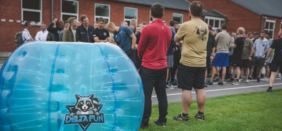 Firmafest aktiviteter med bumper balls